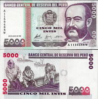 Peru 1988 - 5000 Intis - Pick 137 UNC - Perú