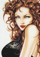Cartes De Collection - Jennifer Janesko - Comic Image 24 - Pin Up - Other