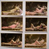 Série De 6 Cartes C. De VILLERS.    Phot. Stebbing  Paris - Künstler