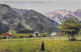 AK 0211  Maria Absam Mit Bettelwurf Und Walderkammspitze - Verlag Purger & Co Um 1910-20 - Hall In Tirol