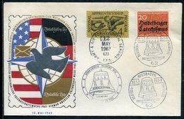 """Bundesrepublik Deutschland / 1963 / So-Brief """"Deutsch-Amerikanische Freunschaftswoche"""", Versch. Stempel (12029) - BRD"""