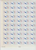 Faciale 19.05 Eur ; Feuille De 50 Tbs à 2.50 Fr N° 2732 (cote 60 Euros) - Full Sheets