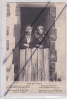 Types Des Pyrénées - Couple ; Deux Bons Vieux (lire Légende  ;dus Boun Blelhs... - Midi-Pyrénées