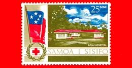 Nuovo - MNH - SAMOA E SISIFO - 1967 - Croce Rossa - Servizio Sanitario Del Sud Pacifico - Ospedale Di Apia - 25 - Samoa