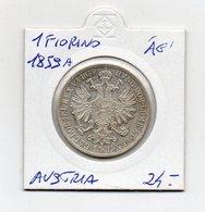"Austria - 1859 - ""A"" - 1 Fiorino - Argento 900 - (MW2147) - Austria"