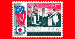 Nuovo - MNH - SAMOA E SISIFO - 1967 - Croce Rossa - Servizio Sanitario Del Sud Pacifico - Raggi X - 20 - Samoa