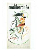 Cpm - Affiche CLUB MEDITERRANEE - Sortez De Votre Coquille RAYMOND GID Femme Maillot Bain Coquillage Poisson - Publicité