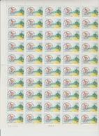 Faciale 19.05 Eur ; Feuille De 50 Tbs à 2.50 Fr N° 2735 (cote 60 Euros) - Feuilles Complètes