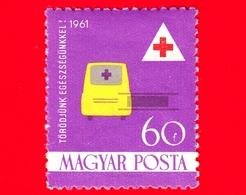 Nuovo - ML - UNGHERIA - 1961 - Croce Rossa - Red Cross - Assistenza Sanitaria - Ambulanza - 60 - Nuovi