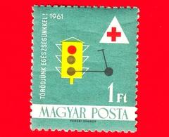 Nuovo - ML- UNGHERIA - Usato - 1961 - Croce Rossa - Red Cross - Assistenza Sanitaria - Semaforo E Scooter - 1 - Ungheria