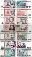 Peru Set 10+50+100+500+1000+5000+10000 Intis - Pick 129-140 UNC Random Years - Peru