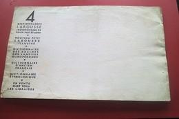 GRAMMAIRE ANGLAISE EDITEE PAR LAROUSSE - BUVARD Collection Illustré Publicitaire Publicité LIBRAIRIE PAPETERIE - Stationeries (flat Articles)
