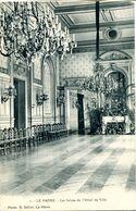 N°69363 -cpa Le Havre -les Salons De L'hôtel De Ville- - Sainte Adresse