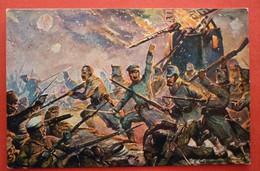DEUTSCHE SOLDATEN - GERMANEN KARTE - Guerra 1914-18