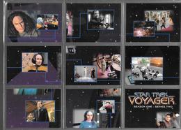BF92 - SERIE COMPLETE 90 CARTES SKYBOX - STAR TREK VOYAGER SEASON ONE - Star Trek