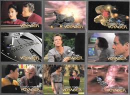 BF91 - SERIE COMPLETE 98 CARTES SKYBOX - STAR TREK VOYAGER - Star Trek