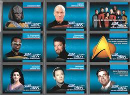 BF89 - SERIE COMPLETE 160 CARTES IMPEL- STAR TREK THE NEXT GENERATION - Star Trek