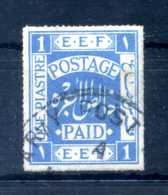 1918 PALESTINA N.2 USATO - Palestina