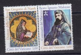 4.- VATICANO CITY 2015. SAINT GREGORIO DI NAREK AND IGNAZIO MAYOLAN - Vatican