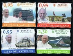 9.- VATICANO CITY 2015. SET. TRAVELS OF POPE FRANCIS - Vatican