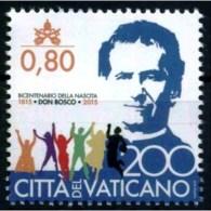 13.- VATICAN CITY VATICANO 2015 SAINT GIOVANNI BOSCO 1815-2015. JOINT ISSUE VATICAN CITY - ITALY - Vatican