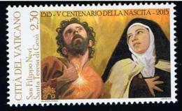 19.- VATICANO VATICAN CITY 2015 ST. TERESA DE JESUS AND ST. FILIPPO NERI - Vatican