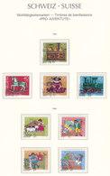 Suisse,Wohltätigkeitsmarken, Timbres De Bienfaisance, PRO JUVENTE,  1983+84,   Cote 8.25€ (W19016/58) - Pro Juventute