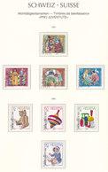 Suisse,Wohltätigkeitsmarken, Timbres De Bienfaisance, PRO JUVENTE,  1985+86,   Cote 9.5€ (W19016/59) - Pro Juventute