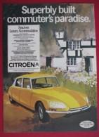 ORIGINAL 1971 MAGAZINE ADVERT FOR CITROEN MOTOR CAR - Other