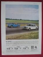 ORIGINAL 1965  MAGAZINE ADVERT FOR  M.G. MIDGET MOTOR CAR - Advertising