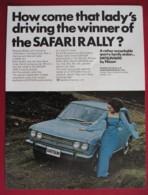 ORIGINAL 1969  MAGAZINE ADVERT FOR  DATSUN 1600  MOTOR CAR - Other