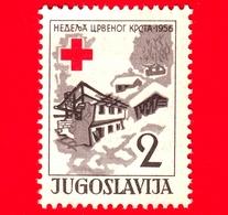 Nuovo - MNH - JUGOSLAVIA - 1956 - Croce Rossa - Disastri Naturali - Neve - 2 - 1945-1992 Repubblica Socialista Federale Di Jugoslavia