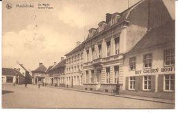MEULEBEKE DE MARKT  FELDPOST GESTEMPELD 1915  Uitg Sabbe  Re   915/d5 - Meulebeke