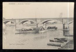 """CPA Tournus - Arrivée Du """" Parisien """" - Circulée 1916 - Autres Communes"""