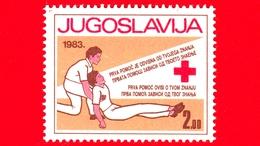Nuovo - JUGOSLAVIA - 1983 - Croce Rossa - Charity Stamp (Red Cross Week) - 2 - Nuovi