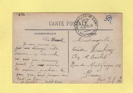 Cachet D Essai - Versailles Notre Dame - Seine Et Oise - 1914 - 1877-1920: Période Semi Moderne