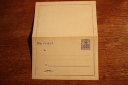 ( 2655 ) Ganzsachen  Deutsches Reich  Kartenbrief K 18 B  *-  Erhaltung Siehe Bild - Postwaardestukken