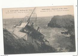 35 SAINT MALO NAUFRAGE DU HILDA CPA BON ETAT - Saint Malo