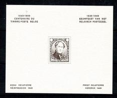 Belg. 1949 E 55** MNH Herdruk Proef Delpierre / Réimpression De L' Essai Delpierre - Commemorative Labels
