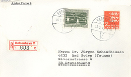 Kopenhagen 1971 Orsted R-Brief - Dinamarca
