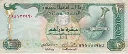 BILLETE DE EMIRATOS ARABES DE 10 DIRHAMS DEL AÑO 2007 (BANKNOTE) - United Arab Emirates