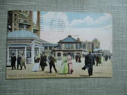 CPA ETATS UNIS ATLANTIC CITY  A MEETING ON THE BOARDWALK ANIMEE - Atlantic City