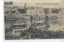 """49 ANGERS . Le Bâteau """"la Ville D'Angers"""", Jour De Fête , édit : Darlier , écrite En 1911 , état Extra - Angers"""
