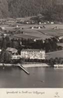 Strobl Am Wolfgangsee Im Salzkammergut,  Grand-Hotel,  Luftbild, Um 1950 - Österreich