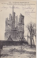 62. SAVY BERLETTE ( ENVOYE DE).  GUERRE 14-18. BOMBARDEMENT DE L' ABBAYE DE MONT SAINT ELOI  TEXTE DU 1er  JUILLET 1915 - Guerra 1914-18