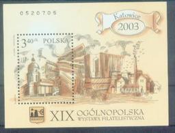 PL 2003-4064 KATOVICE, POLAND, S/S, MNH - Blocs & Feuillets