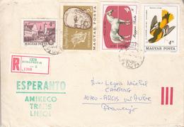 ESPERANTO  -  Lettre Recommandée De HONGRIE - Esperanto