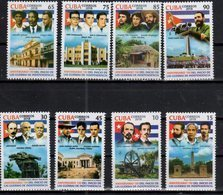 HISTORY, 2018, INDEPENDENCE WAR, LEADERS, FLAGS, MONUMENTS, 8v - History