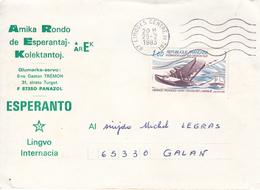 ESPERANTO  -  Lettre FRANCE - Esperanto