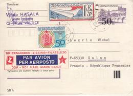 ESPERANTO  -  Lettre De Tchécoslovaquie - Esperanto